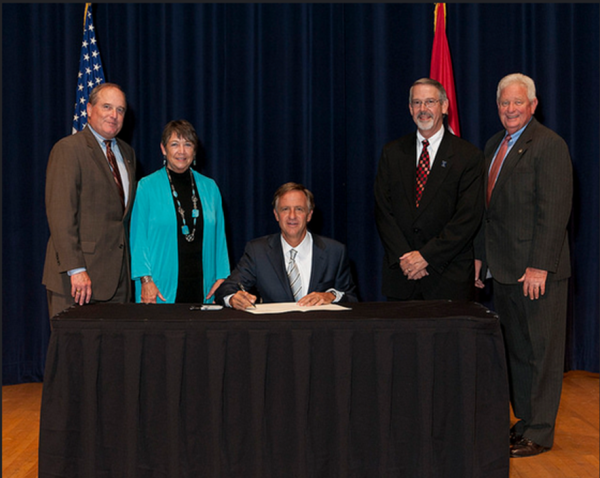 The signing of the Telehealth Bill  (SB2050/HB18950)